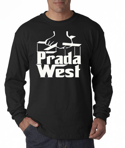 The Pradfather Long Sleeve Men's - Black