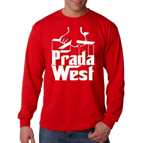 The Pradfather Long Sleeve - Red