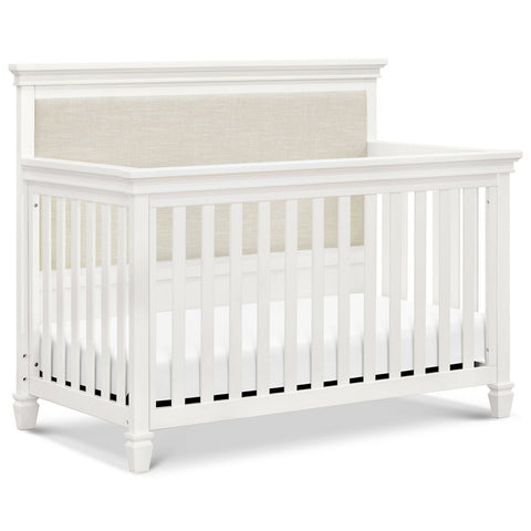 MDB CLASSIC Darlington 4 in 1 Convertible Crib - Warm White