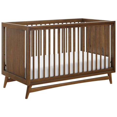 BABYLETTO Peggy 3-in-1 Crib - Natural Walnut
