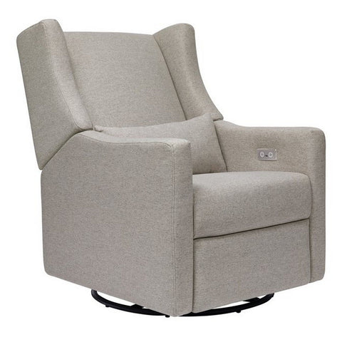 BABYLETTO Kiwi Electronic Recliner and Swivel Glider in Eco-performance Fabric
