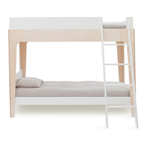 OEUF Perch Bunk Bed Twin Size - White/Birch