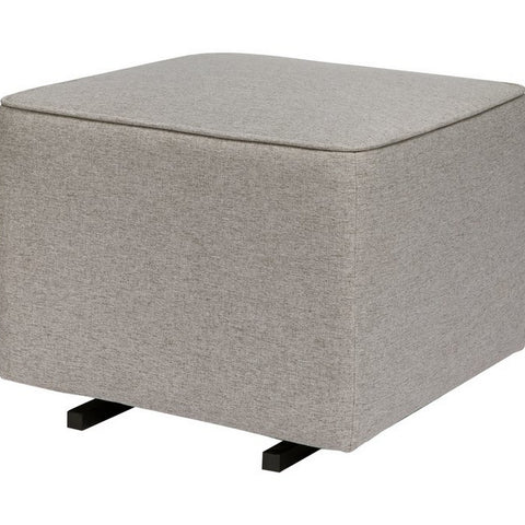 BABYLETTO Kiwi Gliding Ottoman in Eco-performance Fabric
