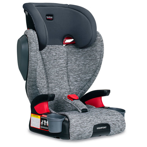 BRITAX Highpoint 2-Stage Belt-Positioning Booster Seat with Removable Back - Asher
