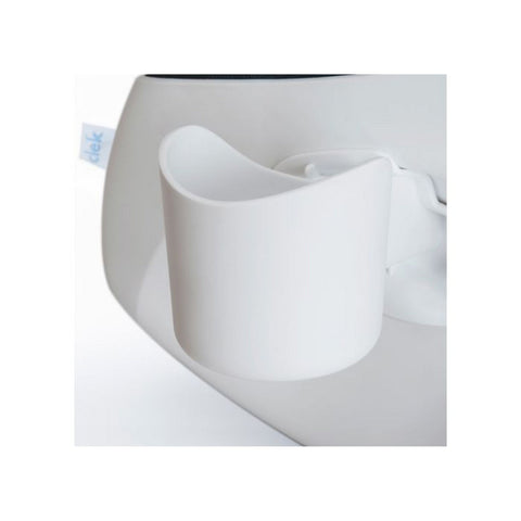 CLEK Drink Thingy Cup Holder For Foonf/Fllo - White