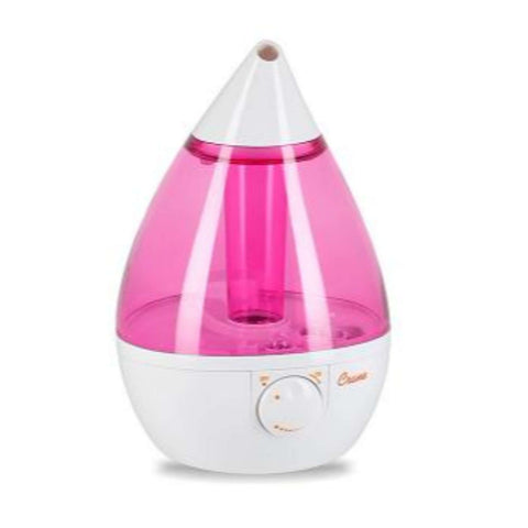 Crane - Ultrasonic Cool Mist Humidifier - Teardrop Rose Humidifiers CRANE - Kido Bebe