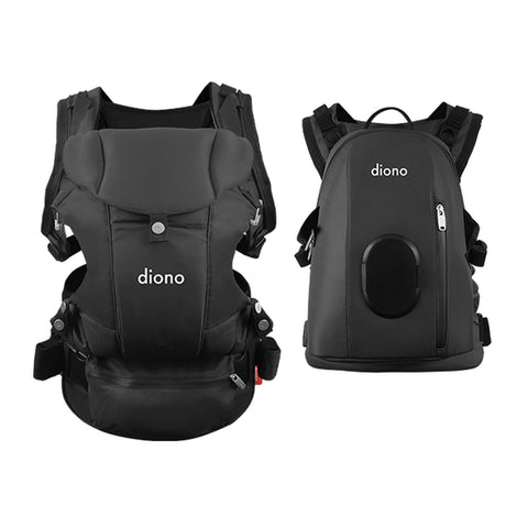 DIONO Baby Wearing Carus Complete - Dark Grey Baby Carriers DIONO - Kido Bebe