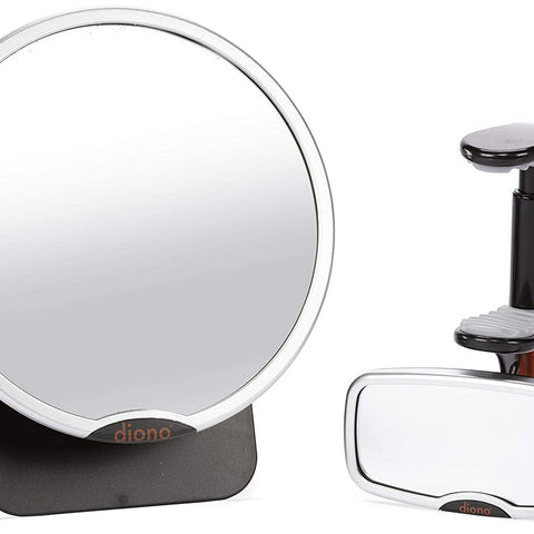 DIONO Universal Mirror Easy View and See Me Too - Silver