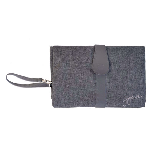 JJCOLE CHANGING CLUTCH - GREY HEATHER Tapis à langer JJCOLE - Kido Bebe