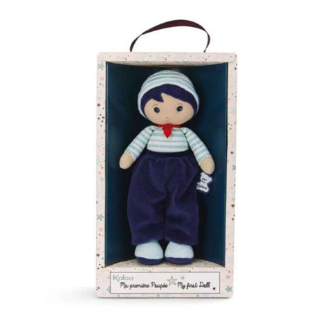KALOO Tendresse My First Doll Lucas K Medium (25cm/9,8in) Plushes & Soft Toys KALOO - Kido Bebe