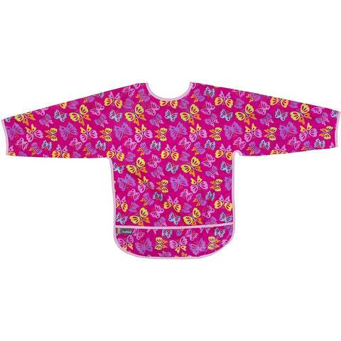 Kushies Bib With Sleeves - Butterfly (4-6 Yrs)