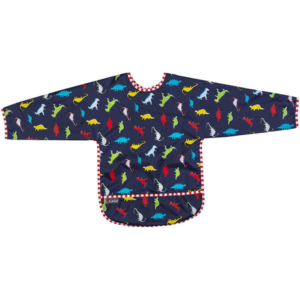 Bavoir Kushies avec manches - Dinos (4-6 ans)