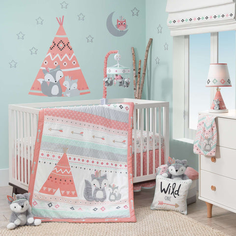 Lambs & Ivy Little Spirit 3-Piece Crib Bedding Crib Bedding Sets LAMBS & IVY - Kido Bebe