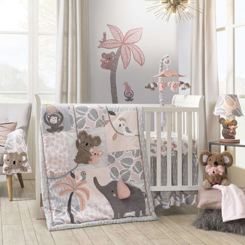 Lambs & Ivy Calypso 4-Piece Crib Bedding Crib Bedding Sets LAMBS & IVY - Kido Bebe