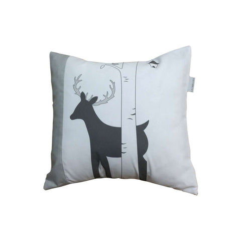 Libellule-Decorative Chevreuil Cushion Square Cushions LIBELLULE - Kido Bebe