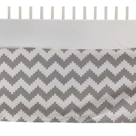 Lolli Living Naturi - Bed Skirt - Aztec Chevron Crib Skirts LIVING 63 - Kido Bebe