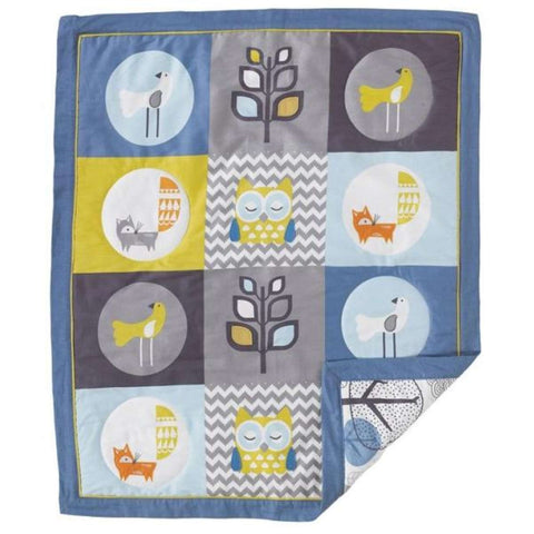Lolli Living Baby Quilt - Woods Crib Blankets LOLLI LIVING - Kido Bebe