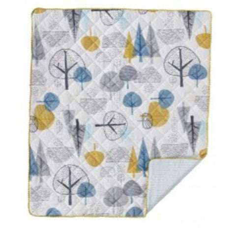 Lolli Living Quilted Baby Comforter - In The Woods Crib Blankets LOLLI LIVING - Kido Bebe