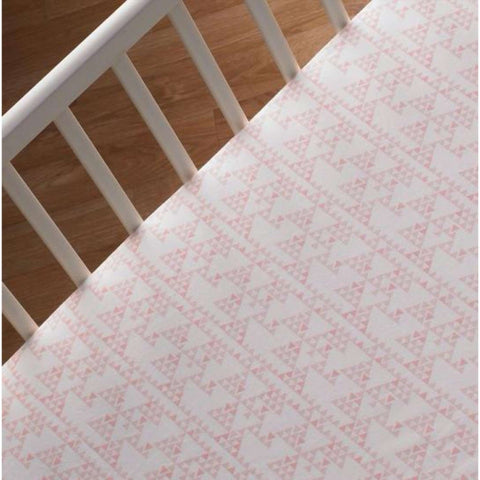 Lolli Living Crib Fitted Sheet - Mint Scallop Crib Fitted Sheets LOLLI LIVING - Kido Bebe