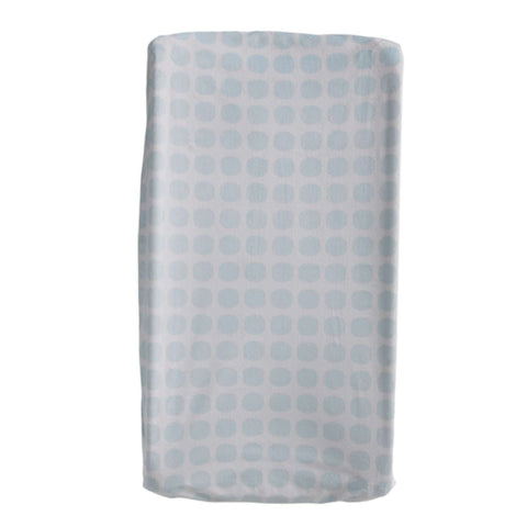Living Textiles Changing Pad Cover Blue Mod Changing Pad Covers LIVING 63 - Kido Bebe