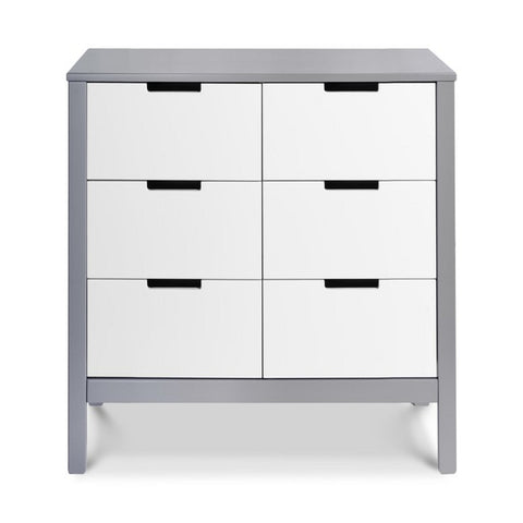 CARTERS by DAVINCI Colby 6-drawer Double Dresser - Grey and White