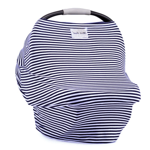MILK SNOB Cover - Navy Stripe