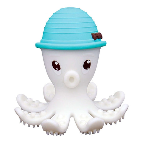 MOMBELLA Octopus Teether & Gum Massager - Powder Blue Teething Toys MOMBELLA - Kido Bebe