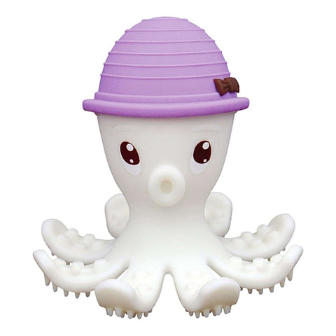 MOMBELLA Octopus Teether & Gum Massager - Lilas Teething Toys MOMBELLA - Kido Bebe