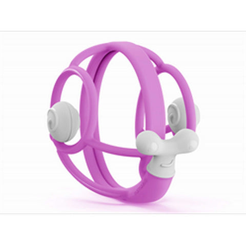 MOMBELLA Squishy Snail Teether - Purple Teething Toys MOMBELLA - Kido Bebe
