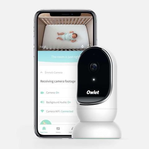 OWLET Cam Wi-Fi Baby Monitor with Two-way Communication Baby Monitors OWLET - Kido Bebe