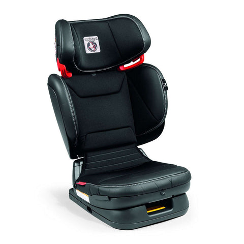 PEG PEREGO Booster Car Seat Viaggio Flex 120 - Licorice/Black Eco Leather Boosters PEG PEREGO - Kido Bebe