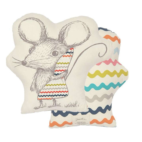 Sleepytime Mouse Pillow Cushions PEHR - Kido Bebe