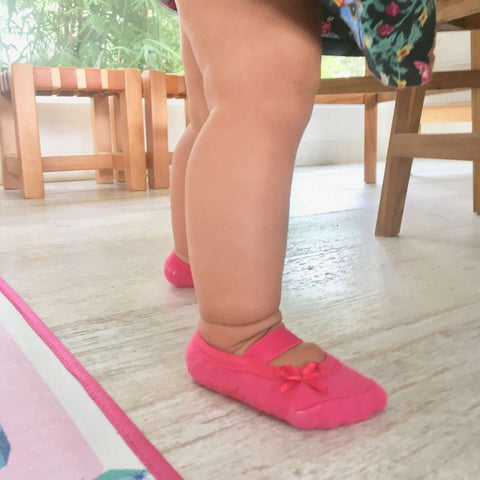 Chaussettes SOPHIA & ANNA 2-4 ans - Chaussettes Hot Pink SOPHIA & ANNA - Kido Bebe