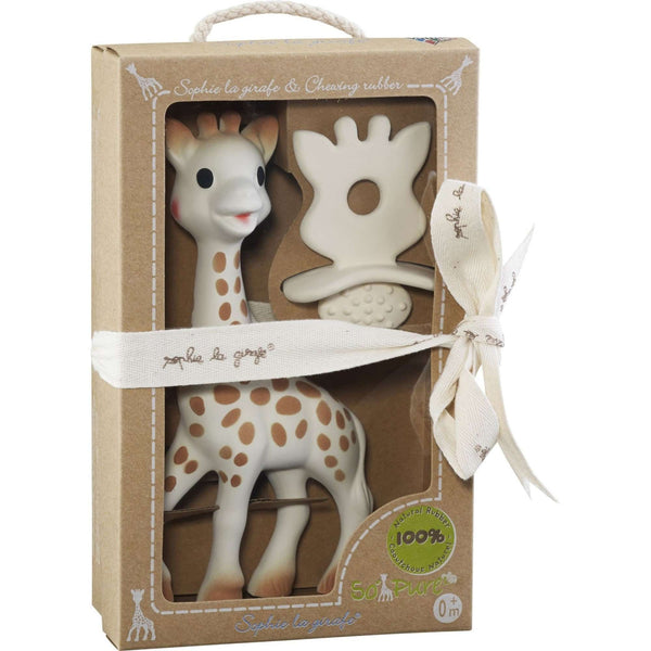 SOPHIE THE GIRAFFE So'Pure Sophie la Girafe & Chewing Rubber Teething Toys SOPHIE LA GIRAFE - Kido Bebe