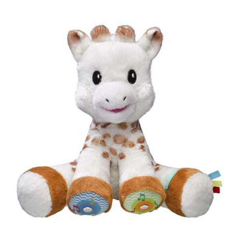 SOPHIE THE GIRAFFE Sophie Touch Musical Plushes & Soft Toys SOPHIE LA GIRAFE - Kido Bebe