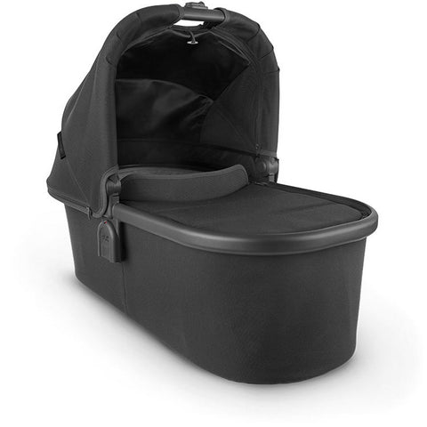 UPPABABY Bassinet V2 - Jake (Black/Carbon/Black Leather)