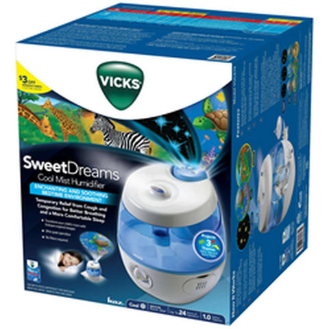VICKS Sweet Dreams Cool Mist Ultrasonic Humidifier Humidifiers VICKS - Kido Bebe