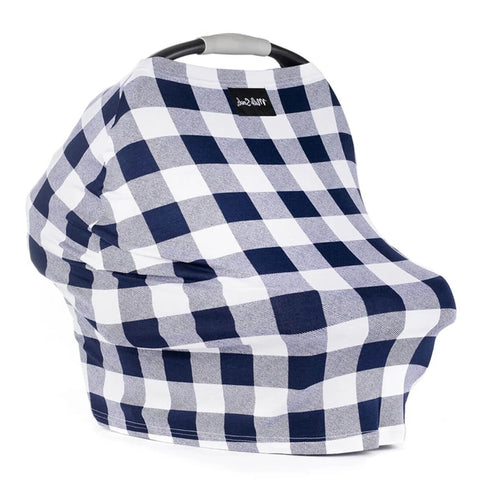 MILK SNOB Cover - Navy Plaid