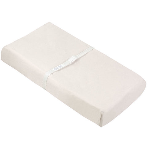 Kushies Change Pad Cover Flannel w/ Slits - White