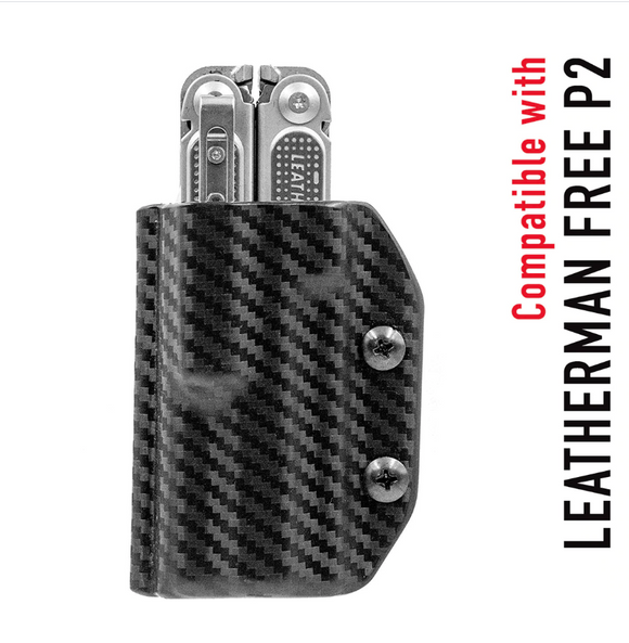 STATGEAR LP2-BLK KYDEX SHEATH FOR LEATHERMAN FREE P2