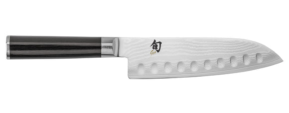 SHUN CLASSIC DM0718 SANTOKU 7 INCH AWARD WINNING KITCHEN KNIFE