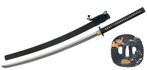 PAUL CHEN CAS HANWEI SH2471 HUNTER KATANA SWORD WITH SCABBARD