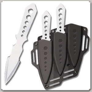 UNITED CUTLERY UC1255 LIGHTNING BOLT TRIPLE THROWING KNIVES WITH SHOULDER SHEATH