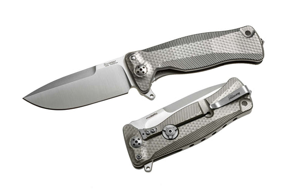 LION STEEL LIONSTEEL LSTSR11G SR11 TITANIUM GREY SLEIPNER FOLDING KNIFE