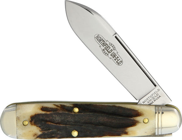 GREAT EASTERN CUTLERY GEC782117S NORTHFIELD AMERICAN JACK STAG FOLDING KNIFE
