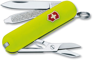 SWISS ARMY VICTORINOX 53208 CLASSIC SD STAY GLOW MULTI FUNCTION POCKET KNIFE