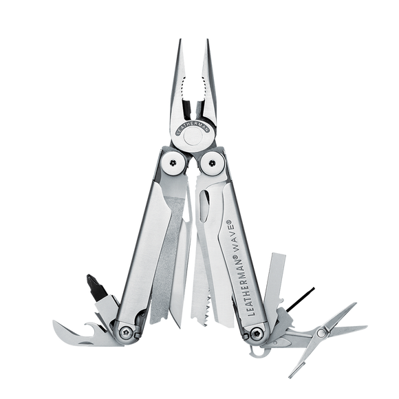 LEATHERMAN WAVE 17 TOOLS IN ONE MULTI TOOL PLIER WITH SHEATH