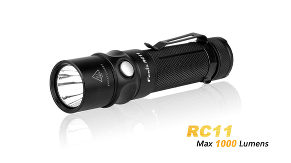 FENIX RC11 1000 LUMEN MAGNETIC CHARGING COMPACT FLASHLIGHT.