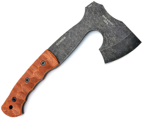 ESEE ESAXE GIBSON AXE 1095 STEEL MICARTA HANDLE AXE WITH SHEATH