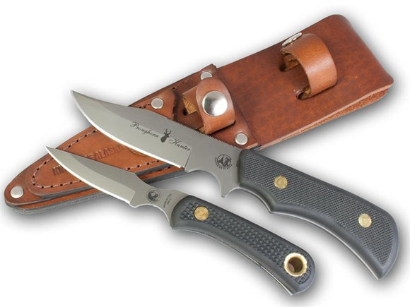 KNIVES OF ALASKA 00197FG TREKKER PRONGHORN CUB COMBO SUREGRIP KNIFE WITH SHEATH.